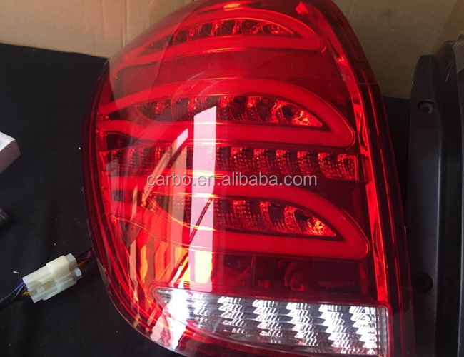 Top quality tail lamp for Chevrolet Captiva led tail lights LED Rear Lamp DRL+Brake+Park+Signal