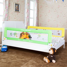 Safe Sleeper Convertible Crib Bed Rail for Toddler with Reinforced Anchor Safety