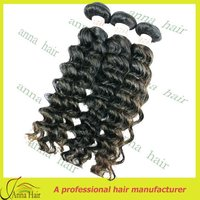 Professional kinky curly weave with competitive price virgin brazilian hair