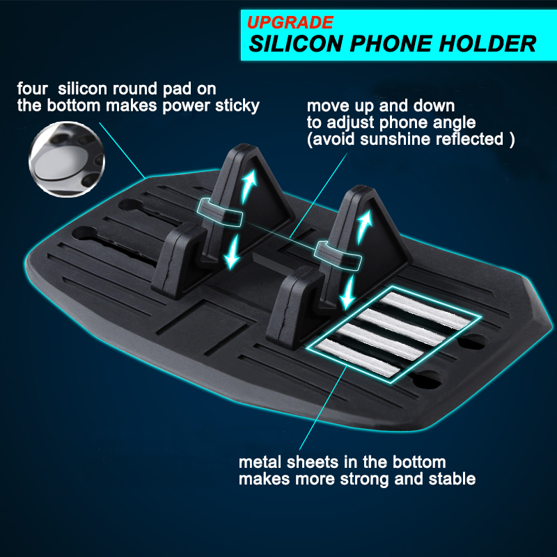 Hot selling silicone cell phone holder OEM