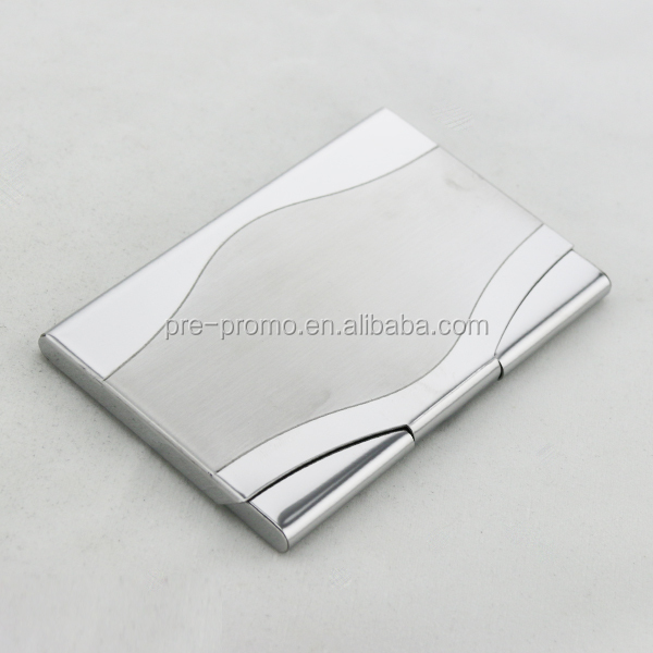 Custom metal business card case/business card holder