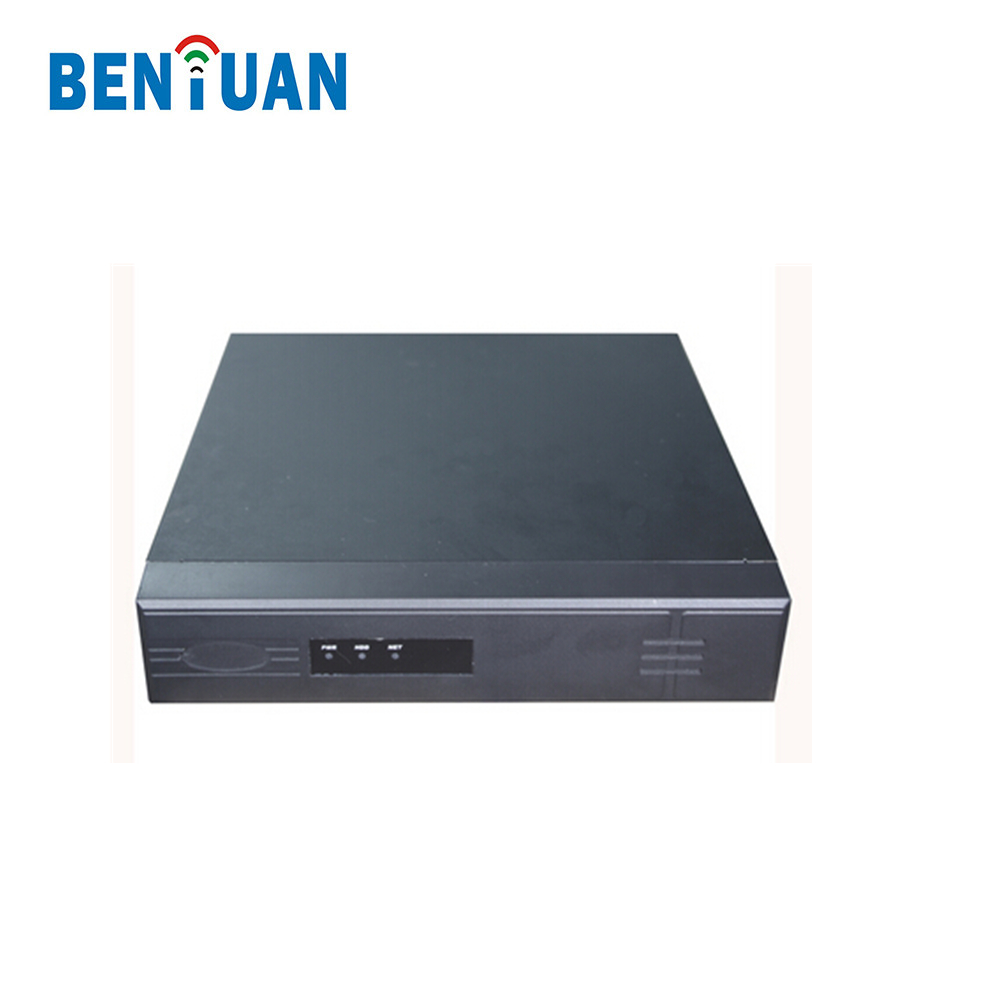 H.264 Network Recorder 1080P 4CH CCTV POE NVR