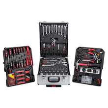 <strong>OEM</strong>/ODM 187pcs auto tool box aluminium case hand tool set