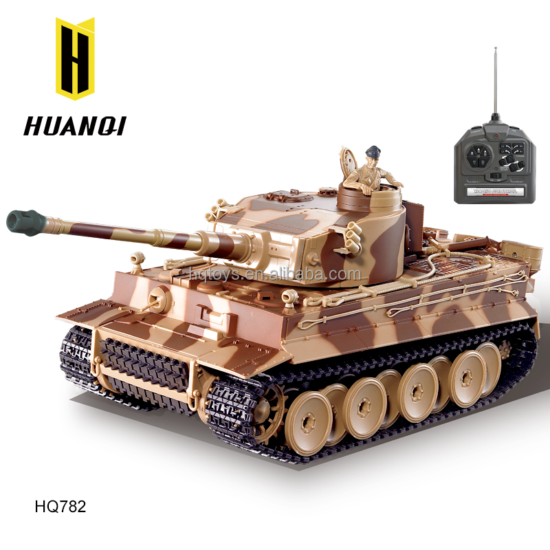 HQ782-10 rc tank shoot BB bullet 1 24 scale safety device BBS battle tank wholesale toys tank