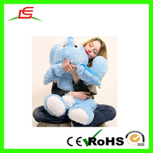 D913 Plush blue rabbit big toys for kids bed gift