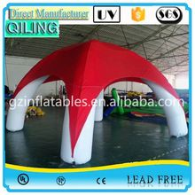 Qi Ling CE/UL air marquee 30 foot dome hot sale inflatable tent in stock