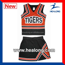 Full Sublimation Wholesale Girl Cheerleading Uniforms