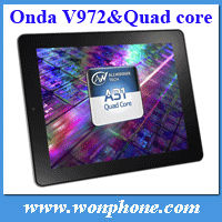 9.7inch IPS Retina screen Onda V972 Quad Core Tablet PC RAM 2GB +16GB