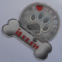 Customized logo epoxy magnet sticker