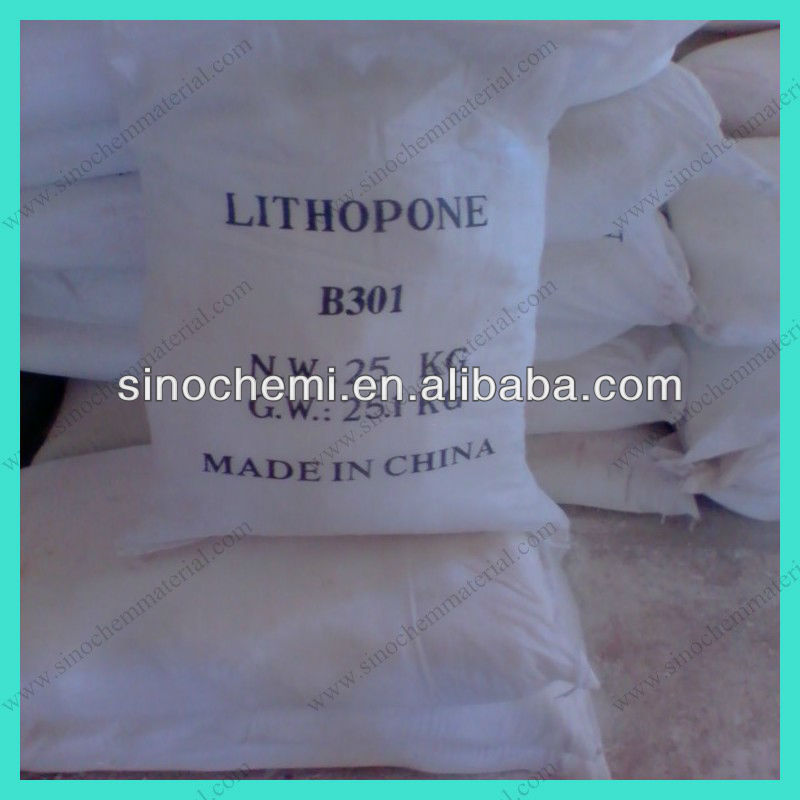 Have High Whiteness And Good Covering Power Coating Raw Material Lithopone