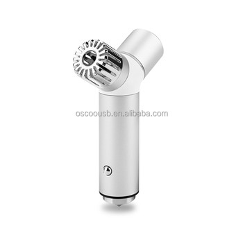 """OSCOO"" brand Wholesales portable car charger with air purifier and emergency hammer"