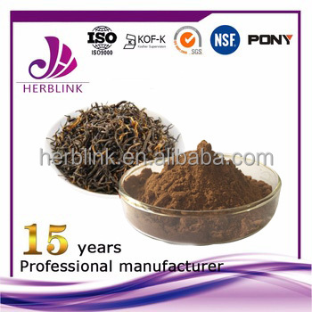 Solvent Extraction Extraction Type and Black Tea Extract Variety instant tea powder
