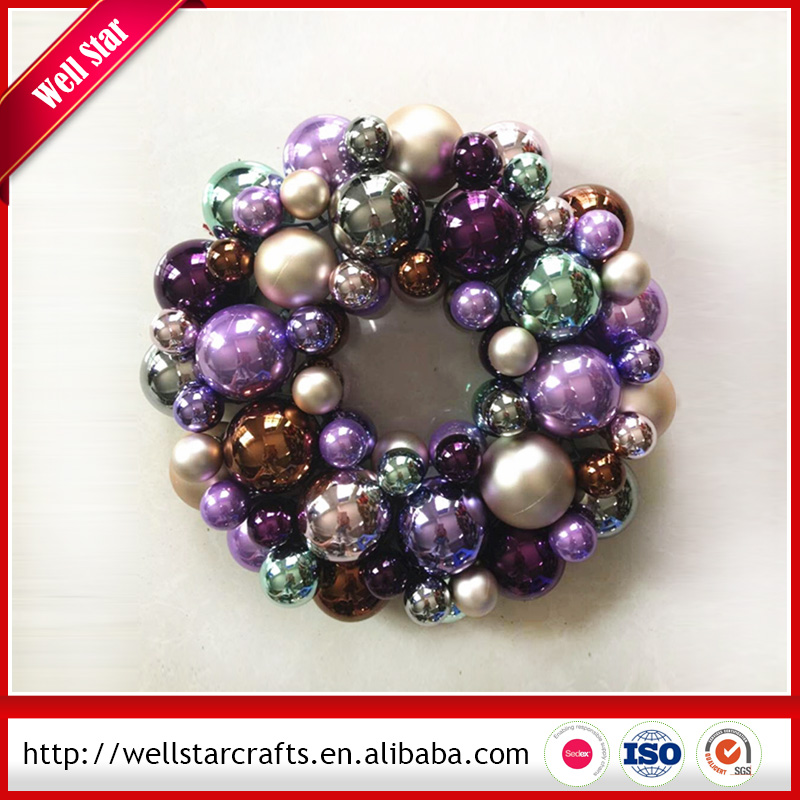 Hot selling!!! Chinese suppliers Baubles wreath/garland / tree christmas decorations