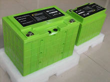 li-Ion type 12v 50ah lifepo4 battery for electrical lawn mower