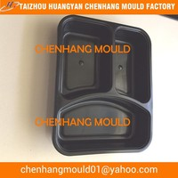 Injection molded plastic container one-off usage
