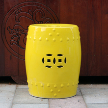 factory made kids bar garden seat ceramic chinese stool