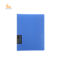 Cheap price PP soft cover 20 rings binder exercise yellow pages journals notebooks