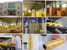 PVC material stretch film type soft food packing film