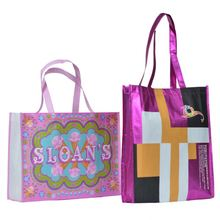new design eco-friendly Christmas laminated shopping bags