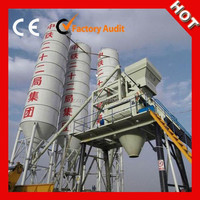 2015 Xinyu 35m3/h concrete batching plant process flow