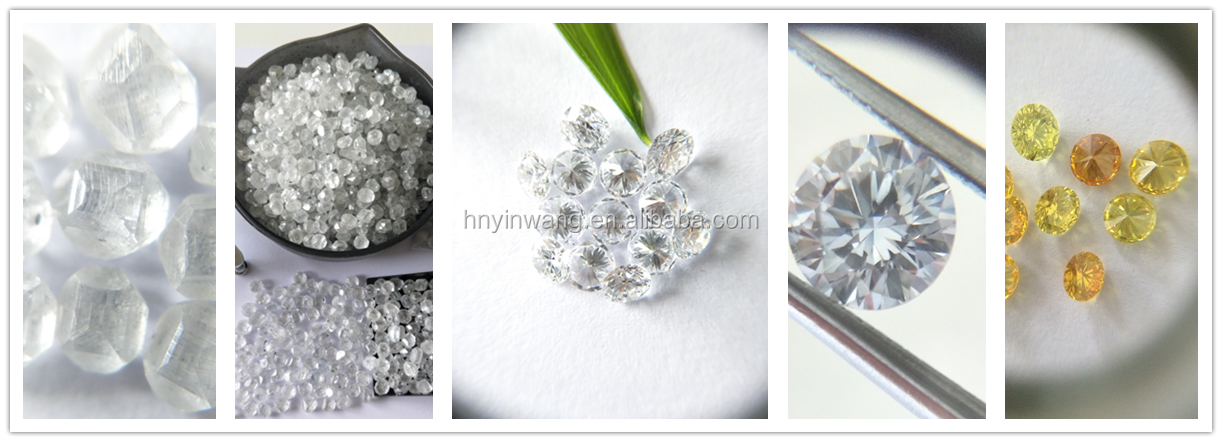 Big Size Polished White Lab Grown HPHT CVD Synthetic Cut Loose Diamonds