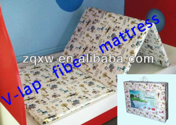 China eoc-friendly vertical polyester three folding mattress