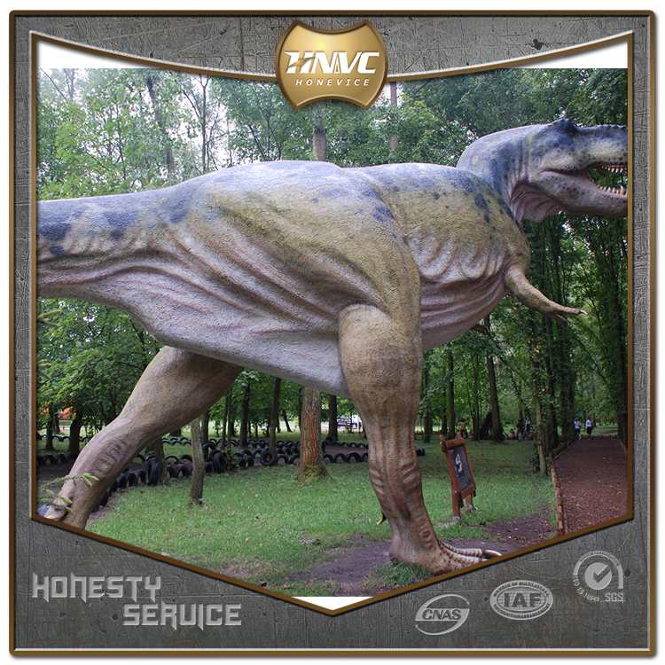 Made in china imitate animal animatronic amusement park dinosaur