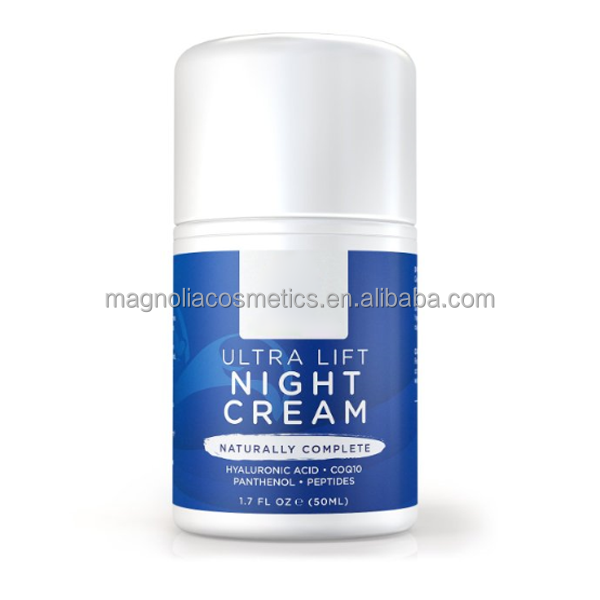 Anti-Aging Formula Lift Night Cream for Restore Youthful Skin