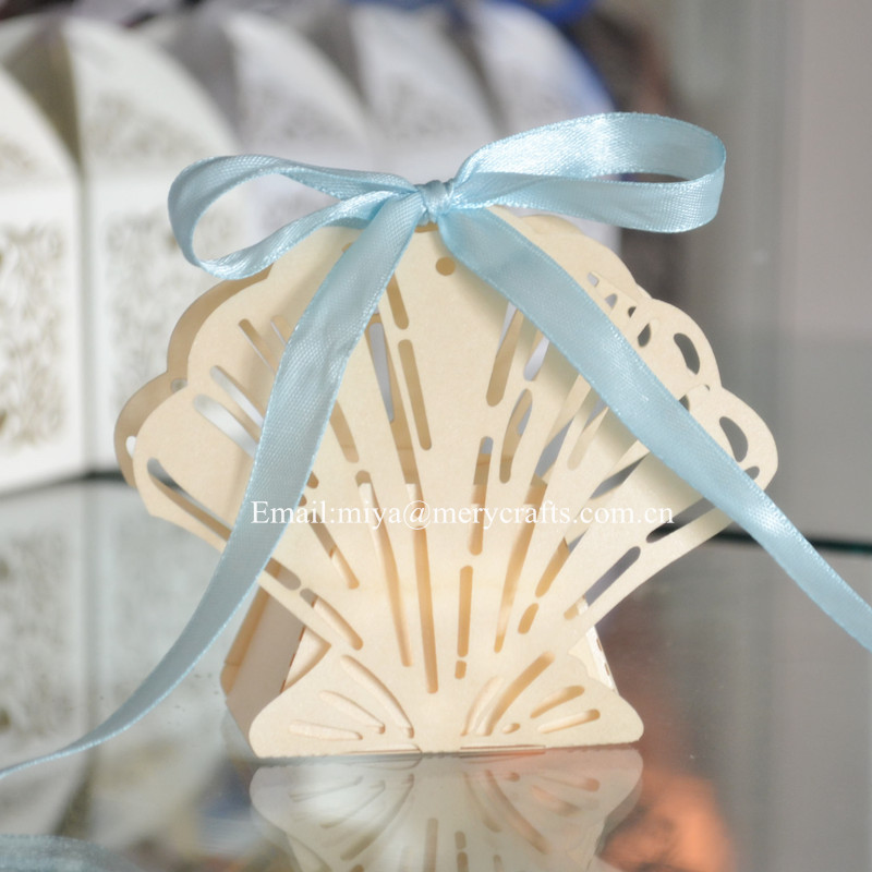 Beach Wedding Decorations Seashell Candy Box For Giveaways - Buy ...