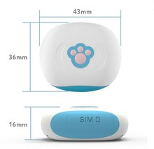 Small Size IP67 Waterproof GPS Portable gps tracker finder For Person and Pet