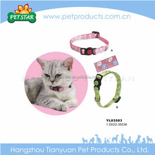 High quality wholesale modern pink cat collar