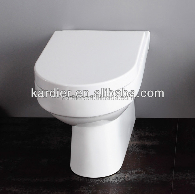 Floor Mounted Installation Type and Elongated Toilet Bowl Shape portable toilet