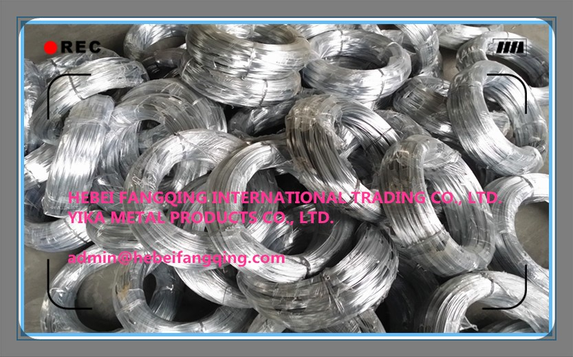 BWG20 galvanized binding wire FACTORY SUPPLY