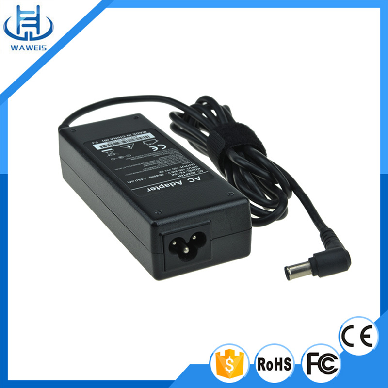 Laptop ac adapter vgp-ac19v33 for sony 19.5v 3.9a battery charger