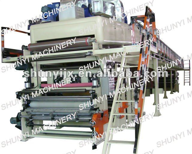 2013 New Double-layer Paper wax / extrusion / roll to roll Coating machine