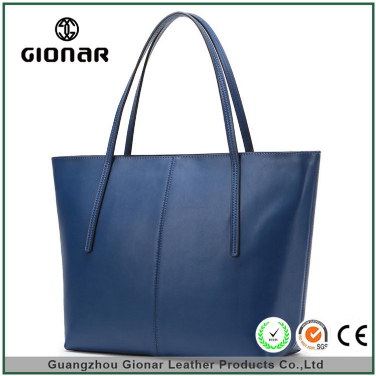 2012 High Quality Lady Shoulder Handbags PU Leather Tote Bag