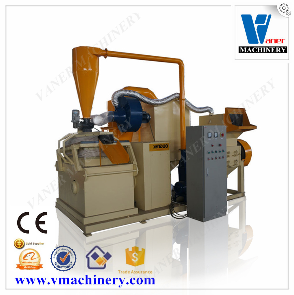 Professional Wire Granulating Machine Power Line Recycling Cable Making Equipment