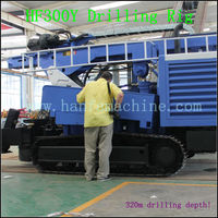 With air compressor! HF300Y portable water well drilling rigs for sale~ Rock expert