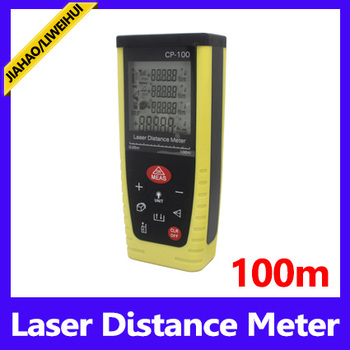 Distance measuring 100m digital 2pcs 1.5V bettery distance meter laser