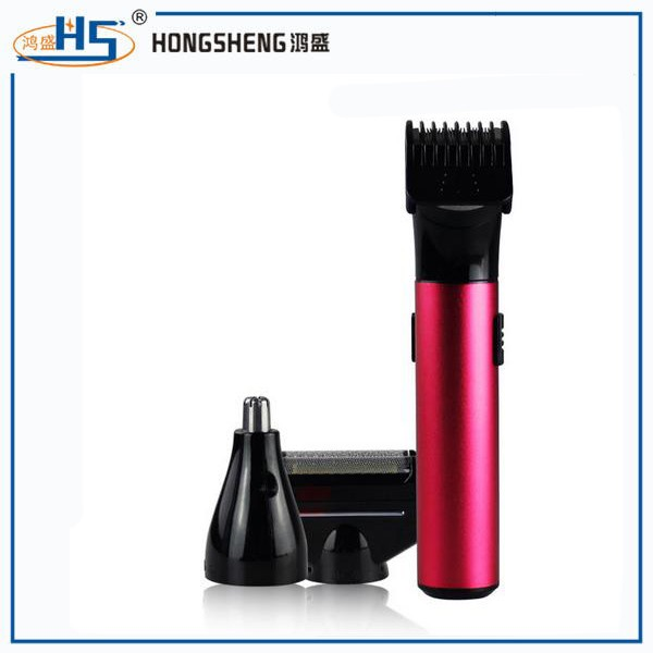 Rechargeable shaver razor beard men shaving machine nose trimmer barbeador washable 3 in 1