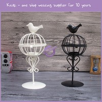 KB156 wedding and home use lantern bird cage candle holder table centerpiece for decoration