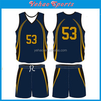 100% polyester Material and Adults Age Group custom Training basketball uniform