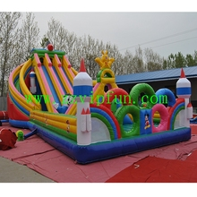Animals Inflatable Fun City Equipment, Inflatable Amusement Air Castle For Sale