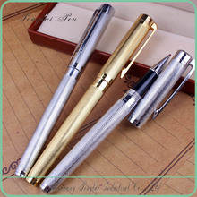 classical gold/ silver plating metal roller/fountain gold pen promotional
