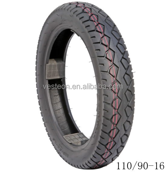 Motorcycle tyre and inner tube 110/90-16