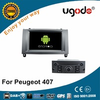 ugode OEM Android 4.4 5.1 Car GPS Navigation for Peugeot 407 DVD Player