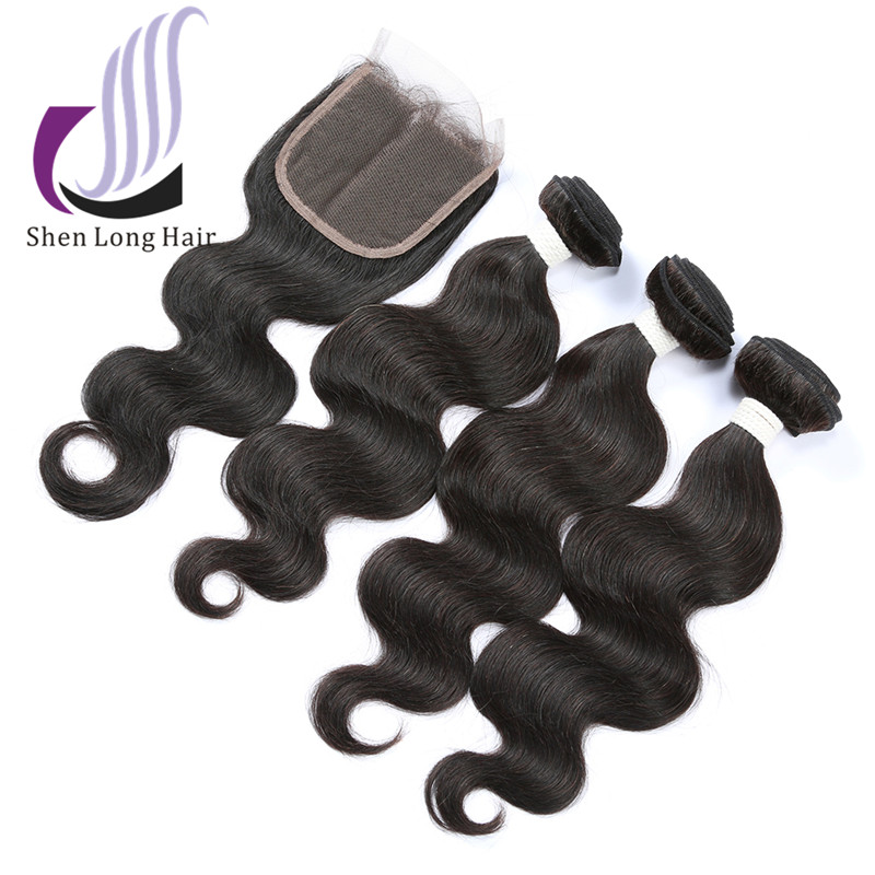 Wholesale Price Long Lasting Free Shipping 3PCS Human Hair Body Wave Bundles With Closure