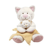 plush Mum & Son Cat toy