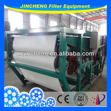 sludge dewatering belt filter press used for seperate solid ,dehydration