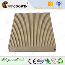 Wooden plastic composite parking area flooring